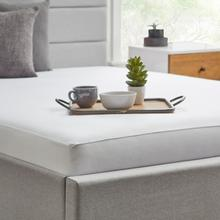 See Details - Tencel Jersey Mattress Protector, cal king, White