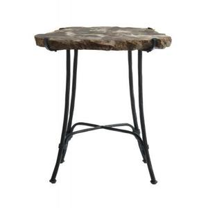 Gallery - Petrified Wood Accent Table