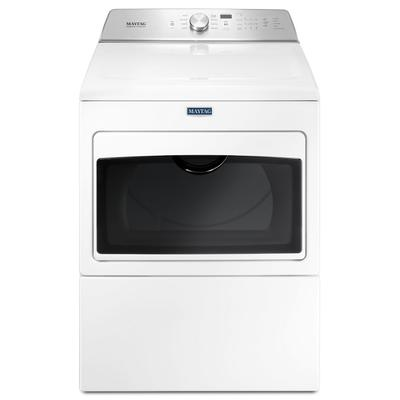 Large Capacity Electric Dryer with IntelliDry® Sensor - 7.4 cu. ft. White Product Image