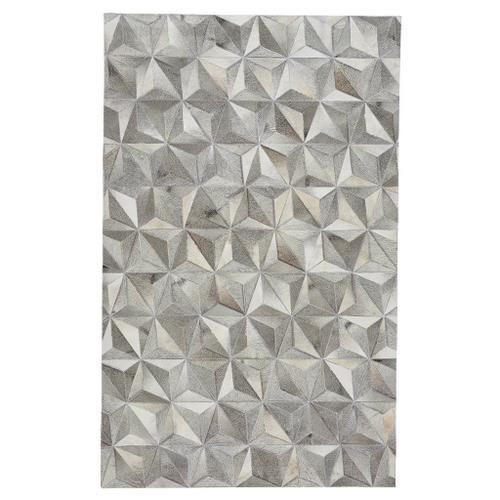 Laramie-Diamond Grey - Rectangle - 5' x 8'