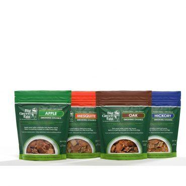 Big Green Egg - Apple Chunks provide a natural sweetness that is mild enough to use with fish, shellfish and poultry