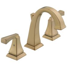 See Details - Champagne Bronze Two Handle Widespread Bathroom Faucet