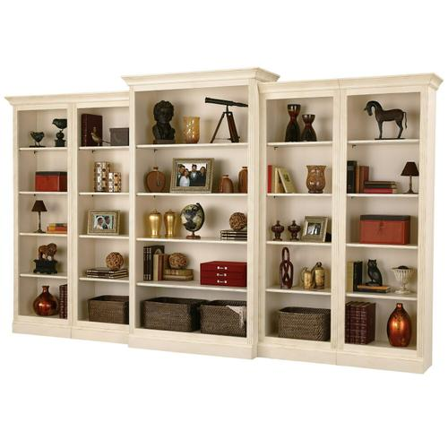 920-010 Oxford Right Return Bookcase