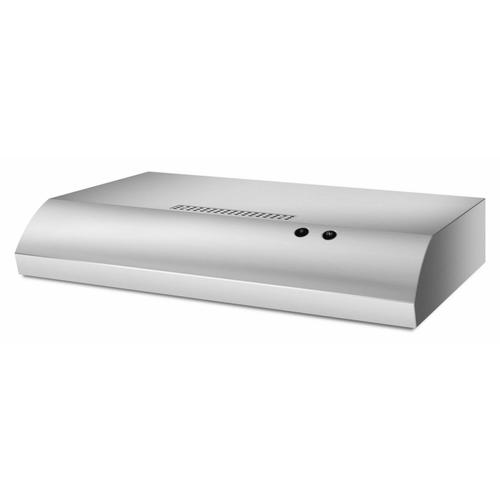 """KitchenAid - 30"""" Range Hood with the FIT System - Stainless Steel"""