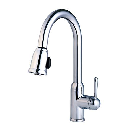 Insignia Pull-down Kitchen in Orobrass