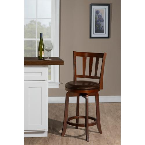 Presque Isle Swivel Counter Stool - Cherry
