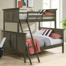 See Details - San Mateo Youth Twin over Full Bunk Bed  Gray