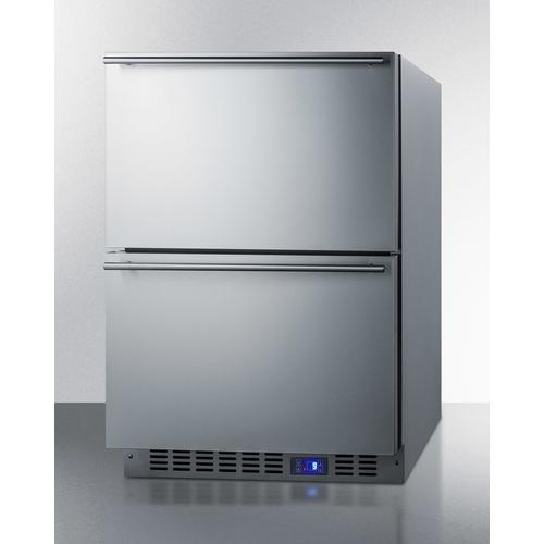 """Summit - 24"""" Outdoor 2-drawer All-freezer"""