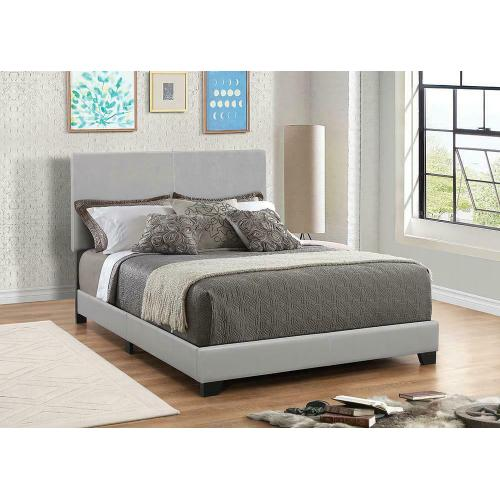 Dorian Grey Faux Leather Upholstered Full HEADBOARD ONLY