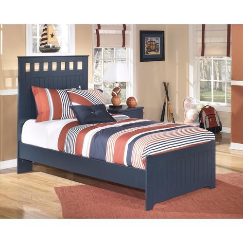 Leo Twin Blue Bedframe