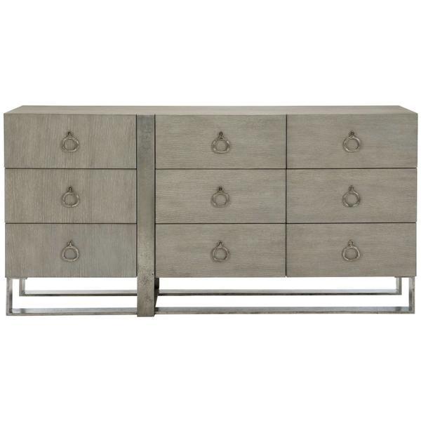 See Details - Linea Dresser in Cerused Greige (384)