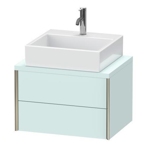 Vanity Unit For Console Compact, Light Blue Matte (decor)