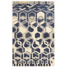 See Details - Aspire Wool Impose Ivory/navy