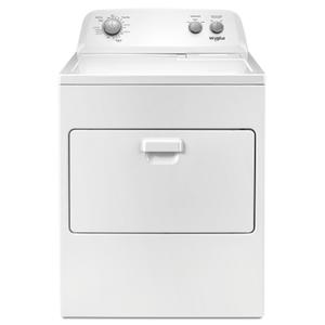 Whirlpool7.0 cu. ft. Top Load Electric Dryer with AutoDry Drying System White