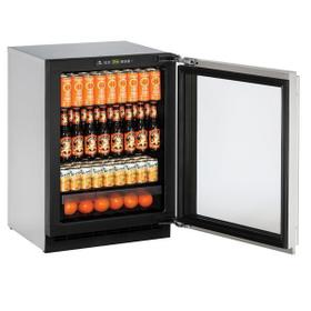 "24"" Refrigerator With Stainless Frame Finish (115 V/60 Hz Volts /60 Hz Hz)"