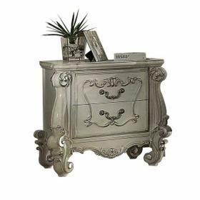 ACME Versailles Nightstand - 21133 - Bone White