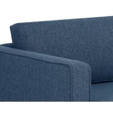 See Details - Adrian Sofa - fabric: liv indigo
