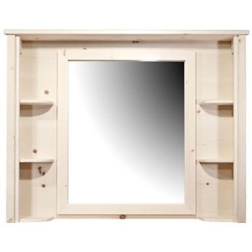 Montana Woodworks - Homestead Collection Deluxe Dresser Mirror