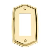 See Details - Polished Brass Colonial Single GFCI