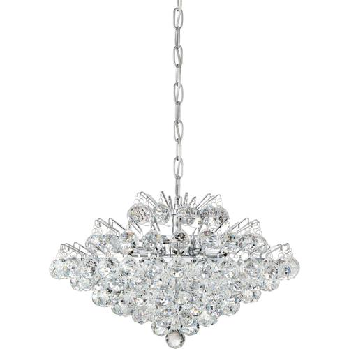Quoizel - Bordeaux With Clear Crystal Pendant in Polished Chrome