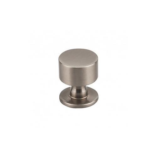 Lily Knob 1 1/8 inch - Brushed Satin Nickel