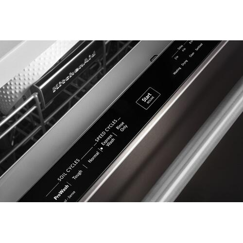 46 DBA Dishwasher with Third Level Rack and PrintShield Finish Black Stainless Steel with PrintShield™ Finish