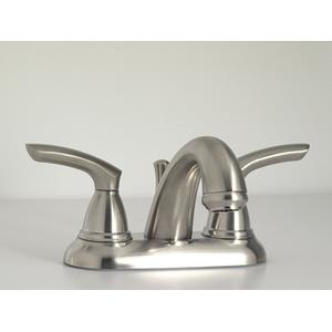 Britani Collection Centerset Faucet in Antique Brass
