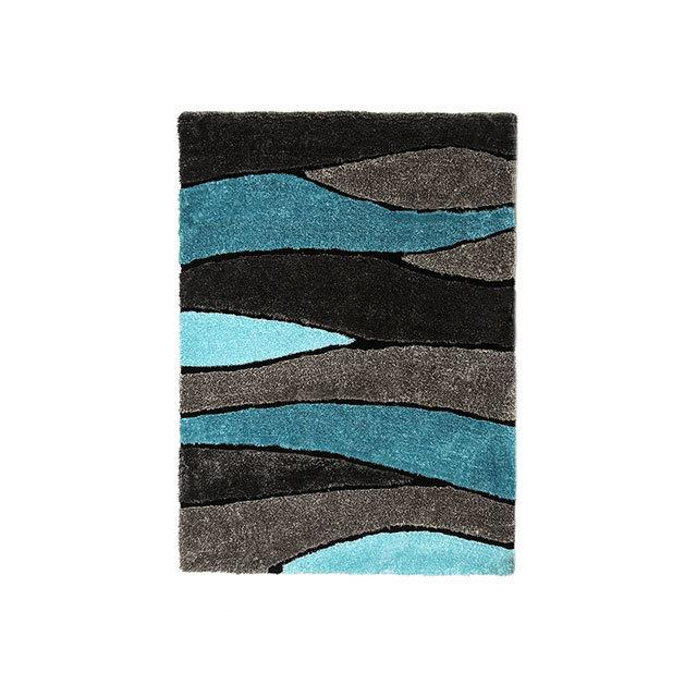 Winnipeg 5' X 7' Gray & Blue Area Rug