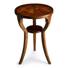 See Details - Selected solid woods and choice cherry veneers. Maple, walnut and cherry veneers inlay design top.