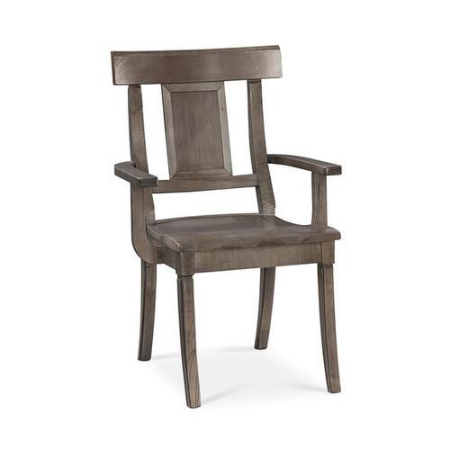Bassett Furniture - Baxter Maple Arm Chair