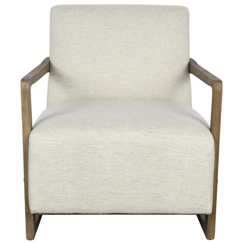 Conley Accent Chair Pearl White