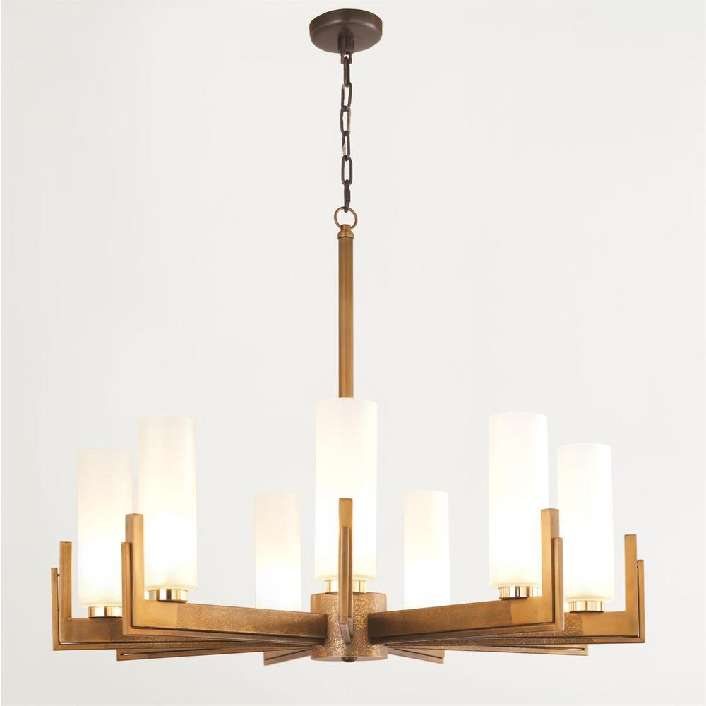 See Details - Stoic Chandelier-Ombre Brass