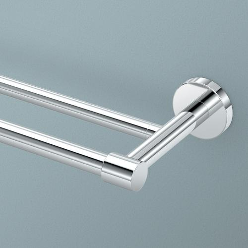 Reveal Double Towel Bar in Chrome