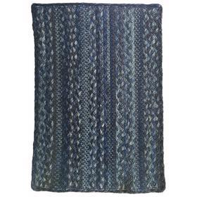 Affinity Blue Steel Braided Rugs