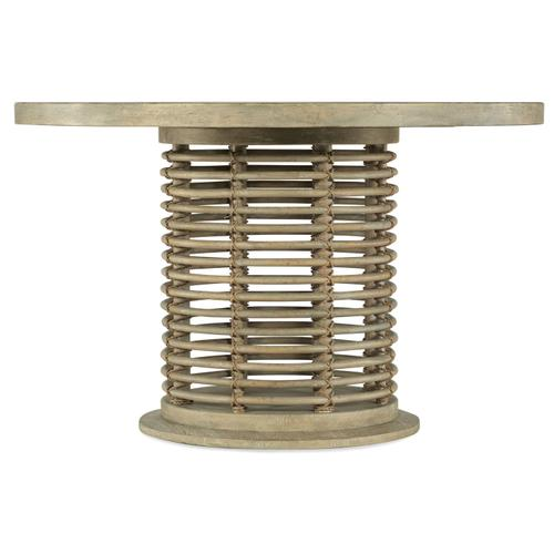 Hooker Furniture - Surfrider 48in Rattan Round Dining Table