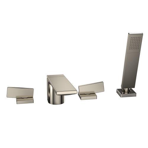 Legato® Deck-Mount Tub Filler Trim with Handshower - Brushed Nickel