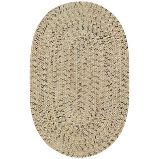 Sea Glass Shell Braided Rugs