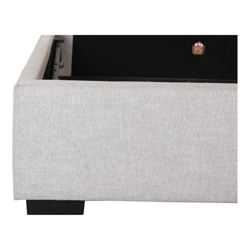 Moe's Home Collection - Belle Storage Bed King Sand