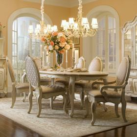 Oval Leg Dining Table