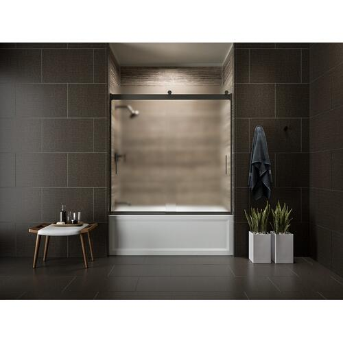 "Black Black 60"" X 32"" Alcove Bath With Integral Apron, Integral Flange and Left-hand Drain"