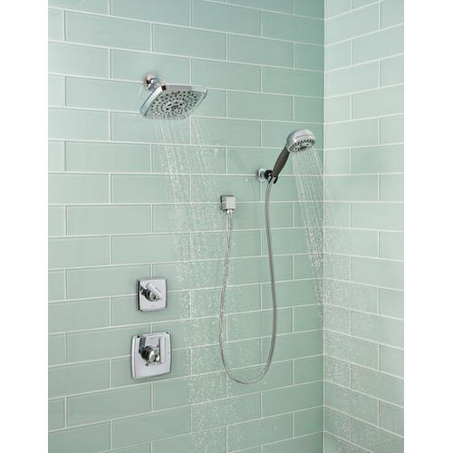Champagne Bronze H 2 Okinetic ® 5-Setting Adjustable Wall Mount Hand Shower