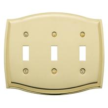See Details - Polished Brass Colonial Triple Toggle