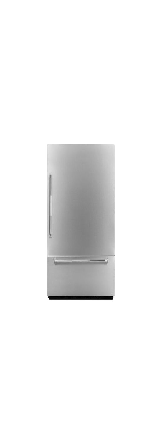 "Pro-Style® 36"" Fully Integrated Built-In Bottom-Freezer Right-Hand Door Swing Panel-Kit Stainless Steel"