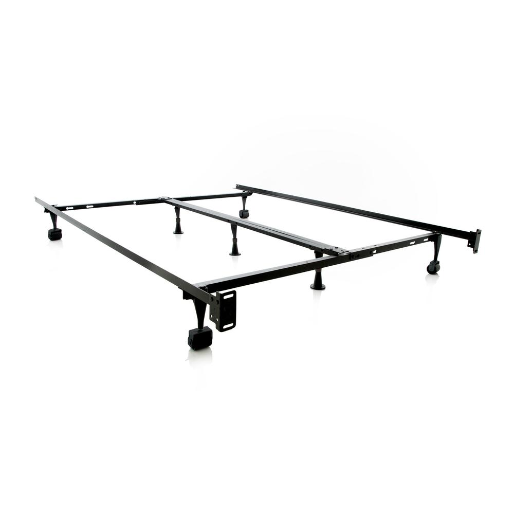 Structures Queen/Full/Twin Adjustable Bed Frame - Wheels