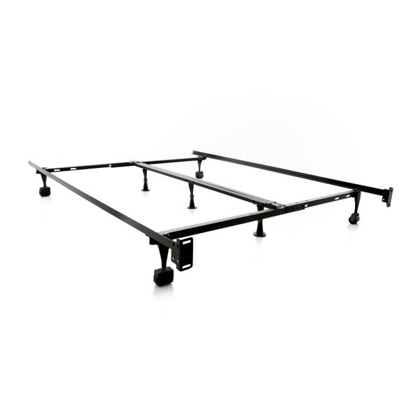 See Details - Structures Queen/Full/Twin Adjustable Bed Frame - Wheels