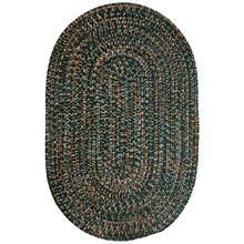 Team Spirit Green Orange Braided Rugs