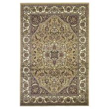 "Cambridge 7328 Beige/ivory Kashan Medallion 5'3"" X 7'7"""