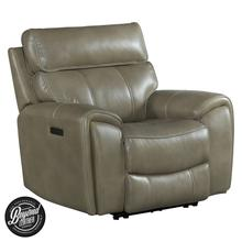 Summit Dual-Power Recliner  Bolero Mushroom