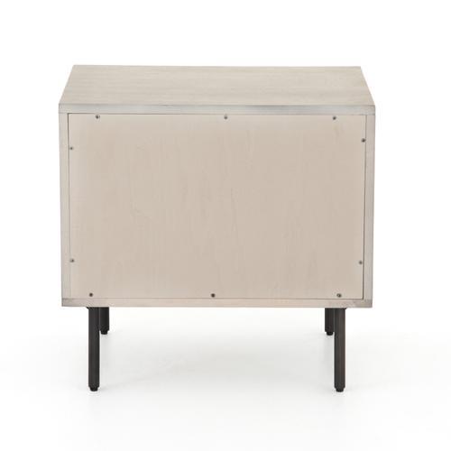 Carly 2 Drawer Nightstand-grey Wash