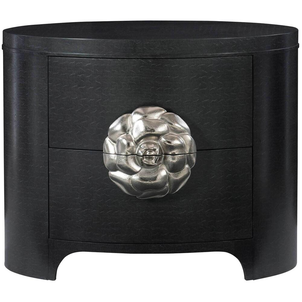Silhouette Nightstand in Figured Onyx (307)